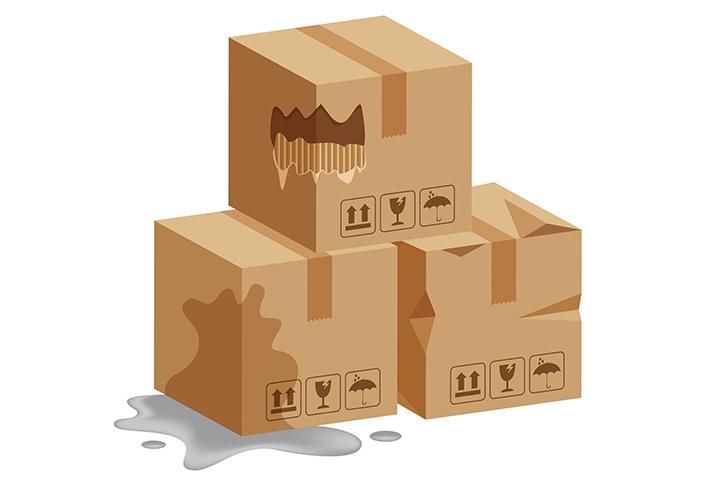Le 3 regole d'oro per farsi rimborsare un pacco danneggiato
